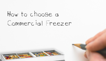 How to choose a commercial freezer