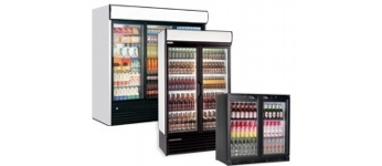 Glass Front Fridges