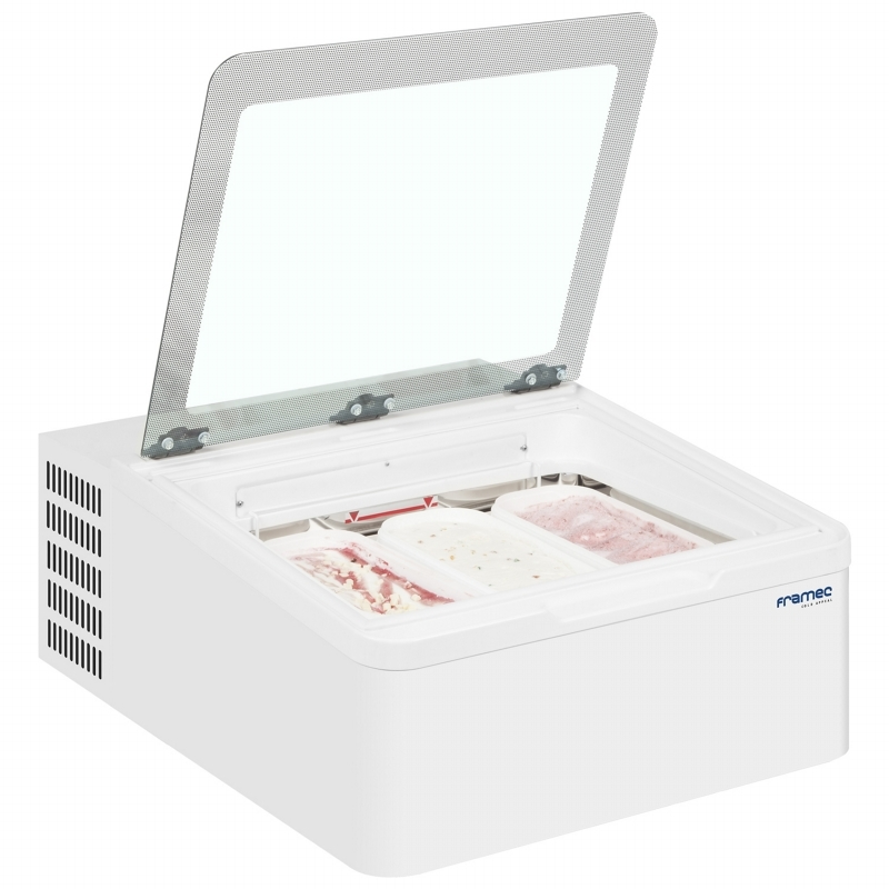 Framec Mini Cream 2v Ice Cream Freezer Fridgesmart