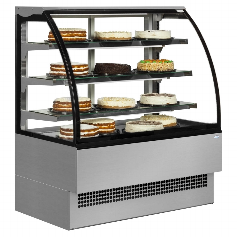 Glass Refrigerator For Cakes
