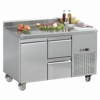 L2-1320 With Optional Half Drawers & Splashback - POA