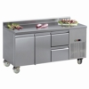 L2-1755 With Optional Half Drawers & Splashback - POA